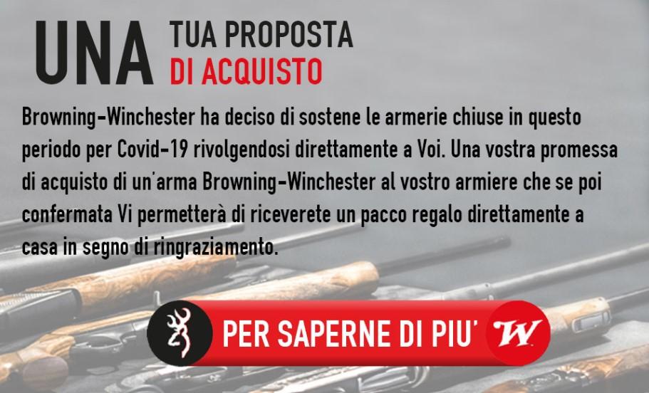 Browning Winchester sostiene gli armieri d'Italia