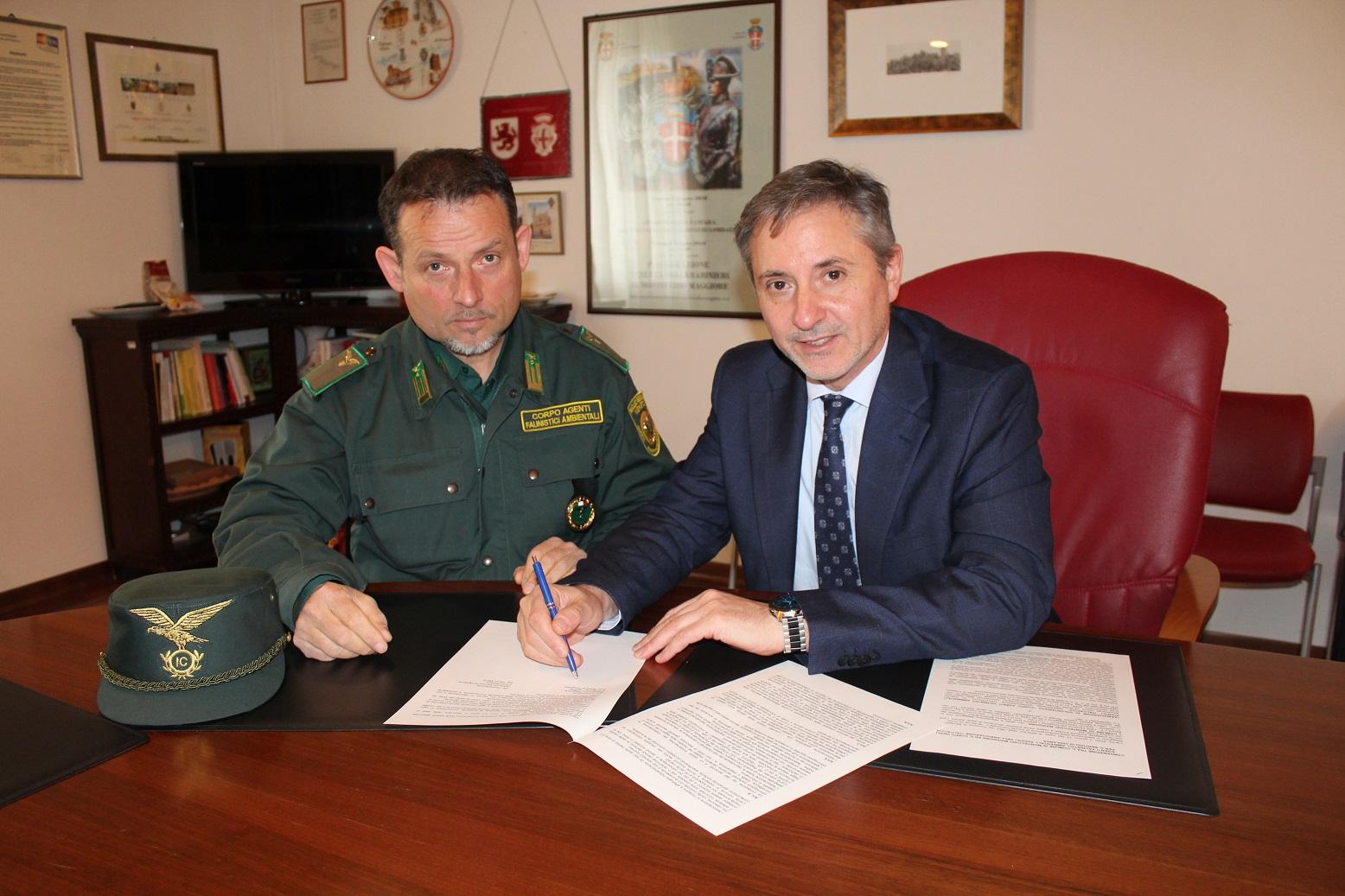 A Montecchio siglata una convenzione con le Guardie ItalCaccia