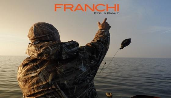 Caccia agli acquatici con i fucili semiautomatici Camo Affinity 3,5 Elite Cobalt e Bronze