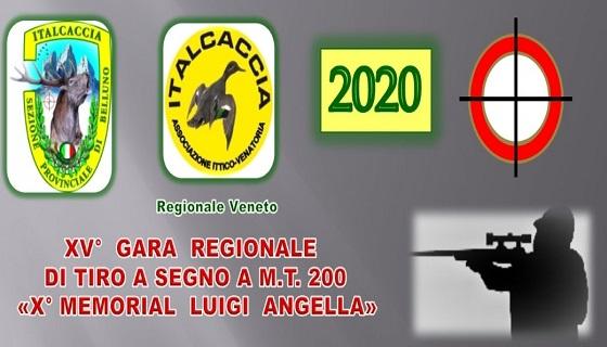 """X Memorial """"Luigi Angella"""" gara Regionale di tiro a segno a metri 200"""