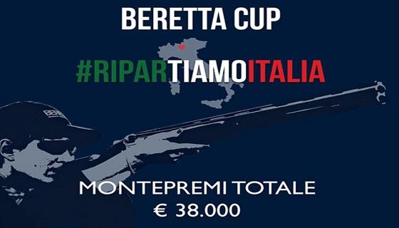 Domenica 28 Giugno: Beretta Cup #RiparTIAMOITALIA Trap