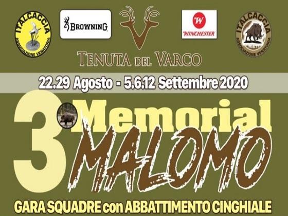 "Rieti: 3° Memorial ""Malomo"""