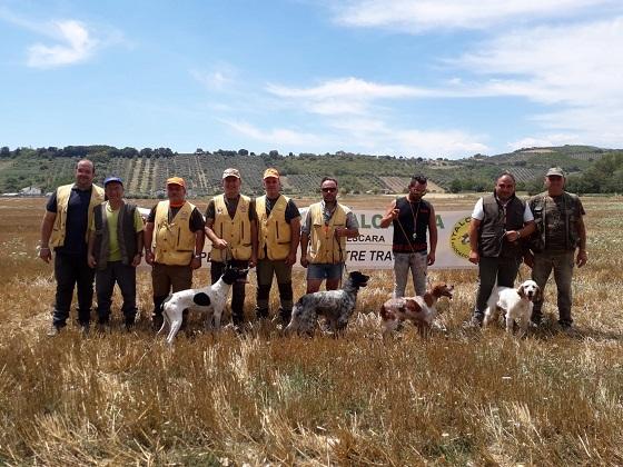 A Collecorvino grandissima kermesse per cani da ferma