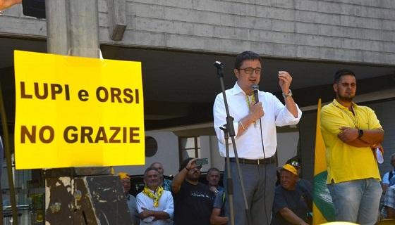 Aggressione del carabiniere a Andalo. Coldiretti: «Orsi e lupi in Trentino un grave pericolo per la popolazione»