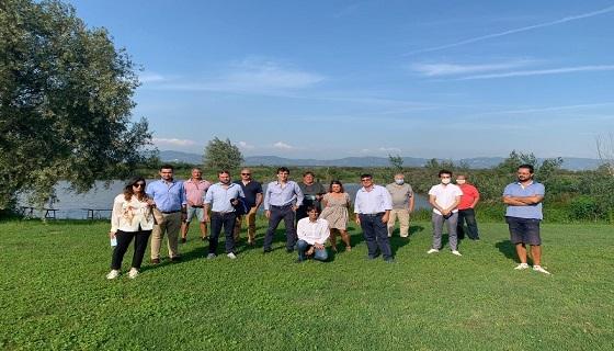 La voce dei cacciatori, Fratelli d'Italia visita il Padule