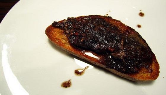 Beccaccia arrosto su pane tostato